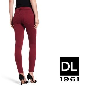 DL1961 Mid Rise Ankle Skinny Jeans